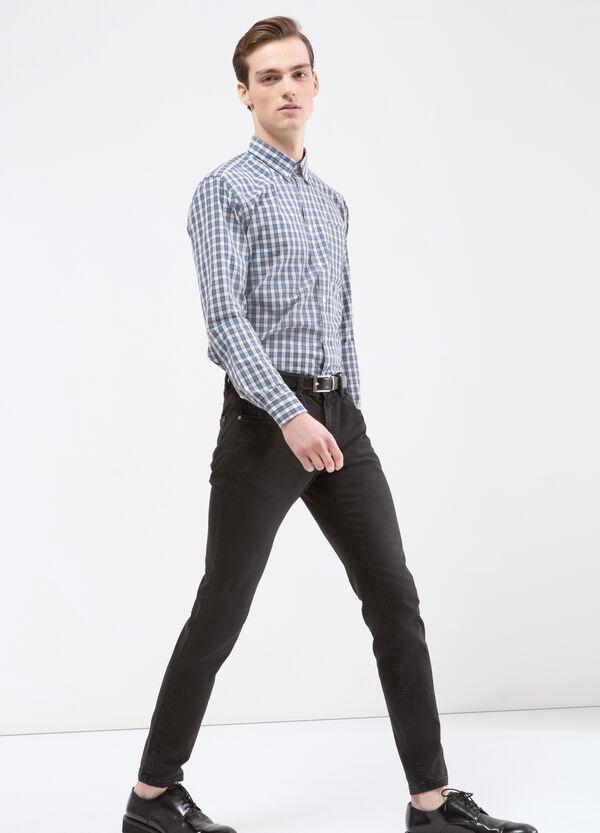 Camicia misto cotone quadri | OVS