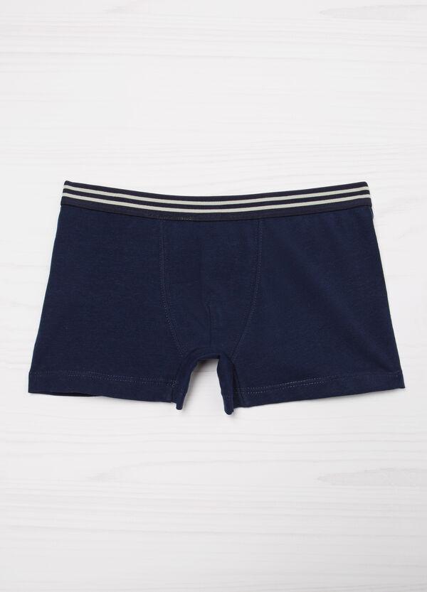 Solid colour boxer shorts | OVS