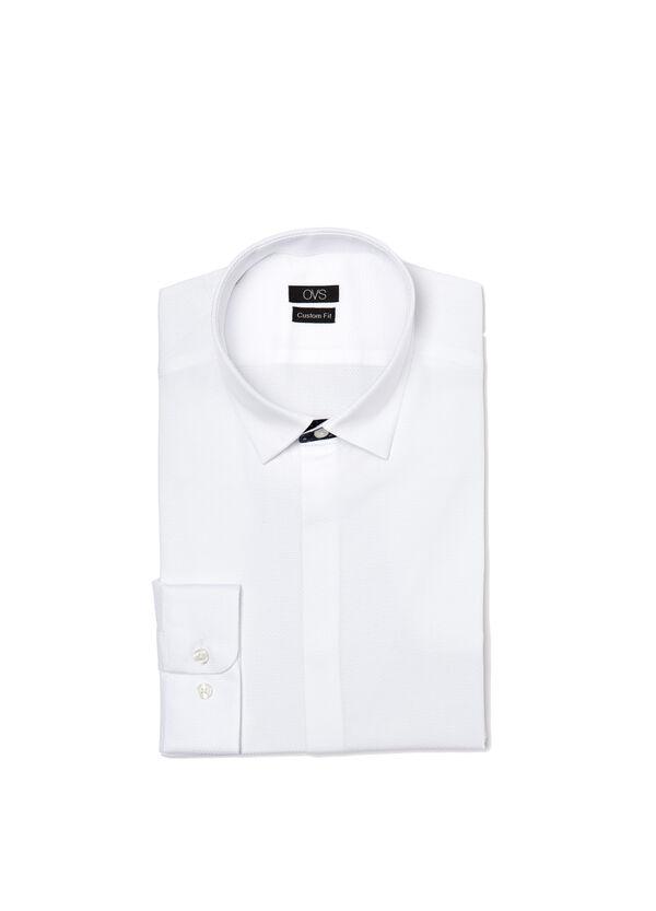 Custom-fit dobby shirt | OVS