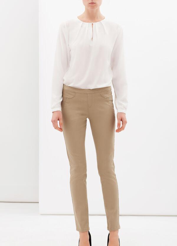Pantaloni stretch tinta unita   OVS