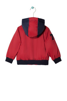Nylon windbreaker, Red, hi-res