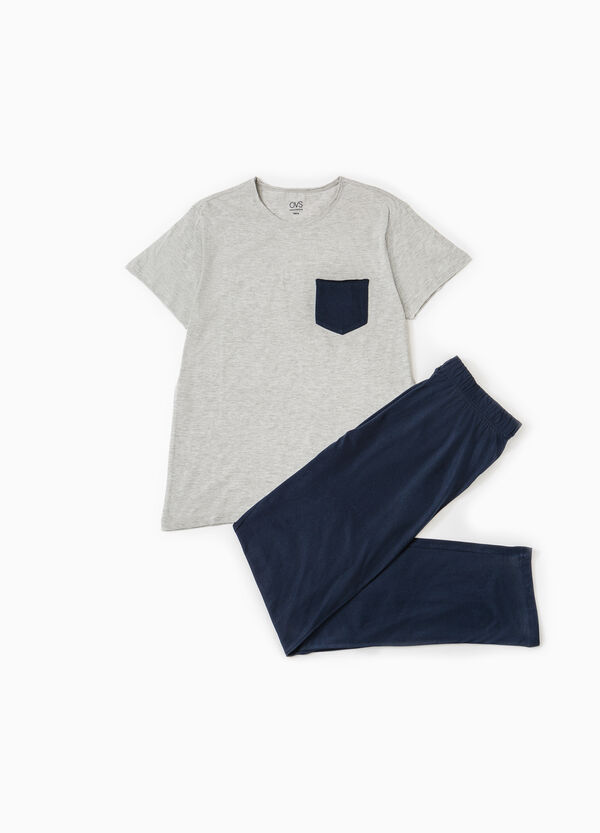 Short-sleeved cotton pyjamas | OVS