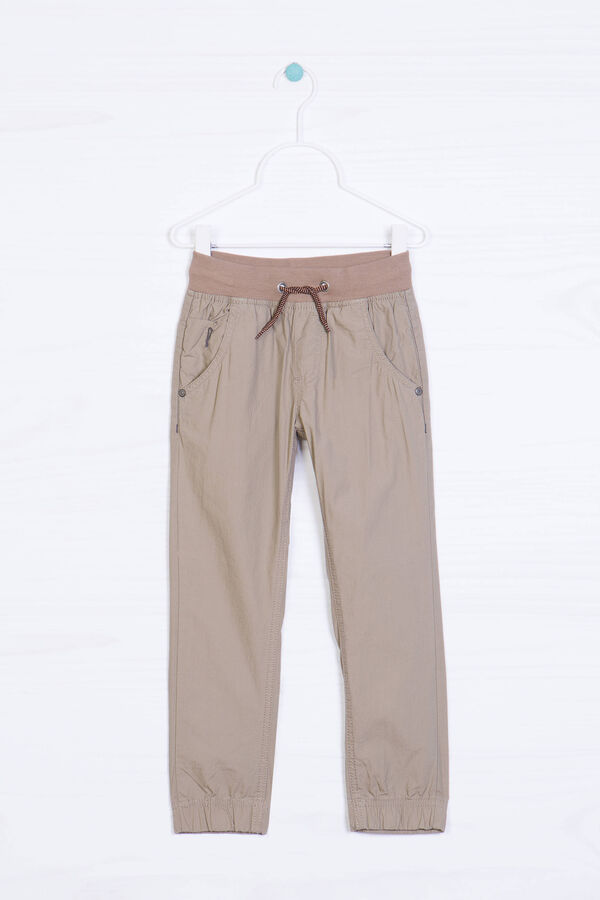 Plain cotton trousers | OVS