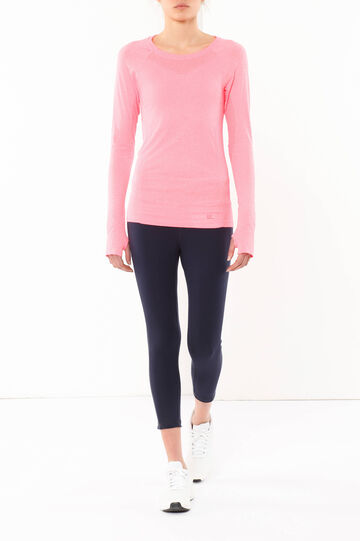 Crew neck T-shirt, Light Pink, hi-res