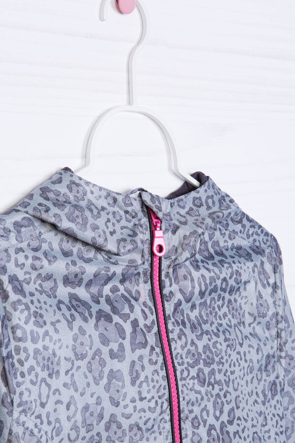 Printed windbreaker | OVS