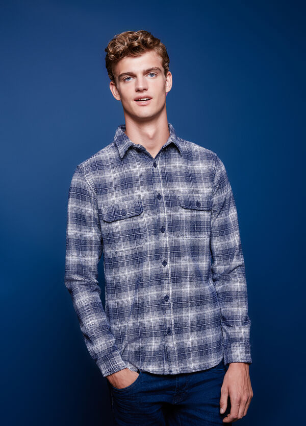 G&H casual shirt with check pattern | OVS