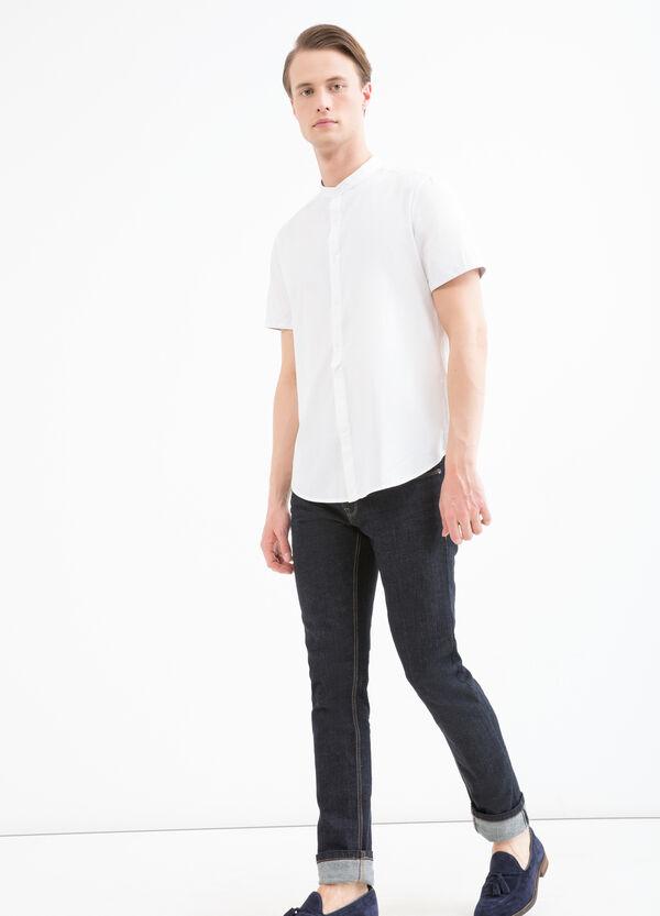 Camicia collo coreana slim fit   OVS
