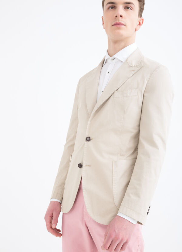 Rumford stretch cotton jacket | OVS