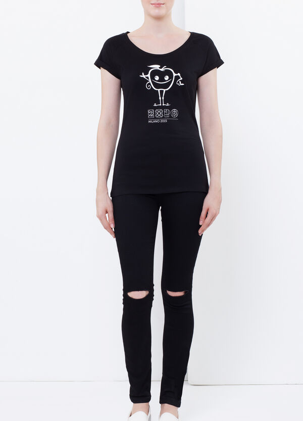 T-shirt with EXPO2015 print | OVS