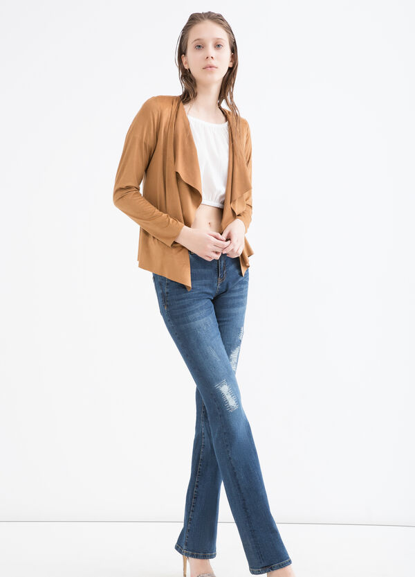 Suede look jacket | OVS