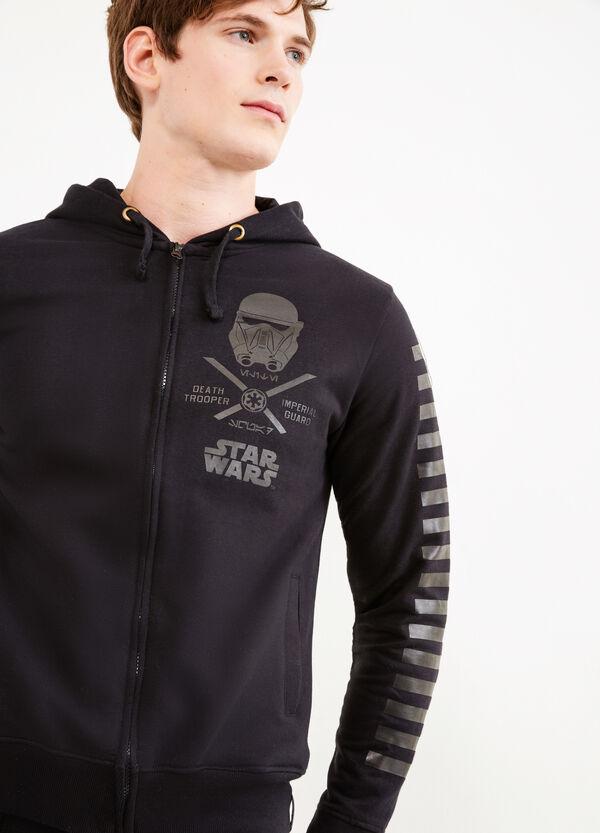 Felpa cotone con stampa Star Wars | OVS
