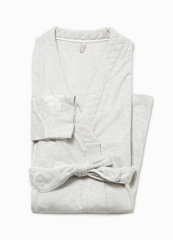 Lace dressing gown | OVS