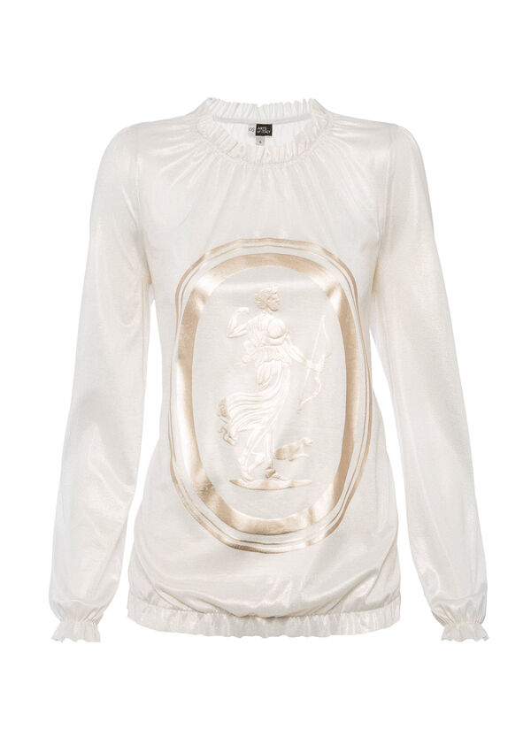 OVS Arts of Italy laminate-effect blouse | OVS