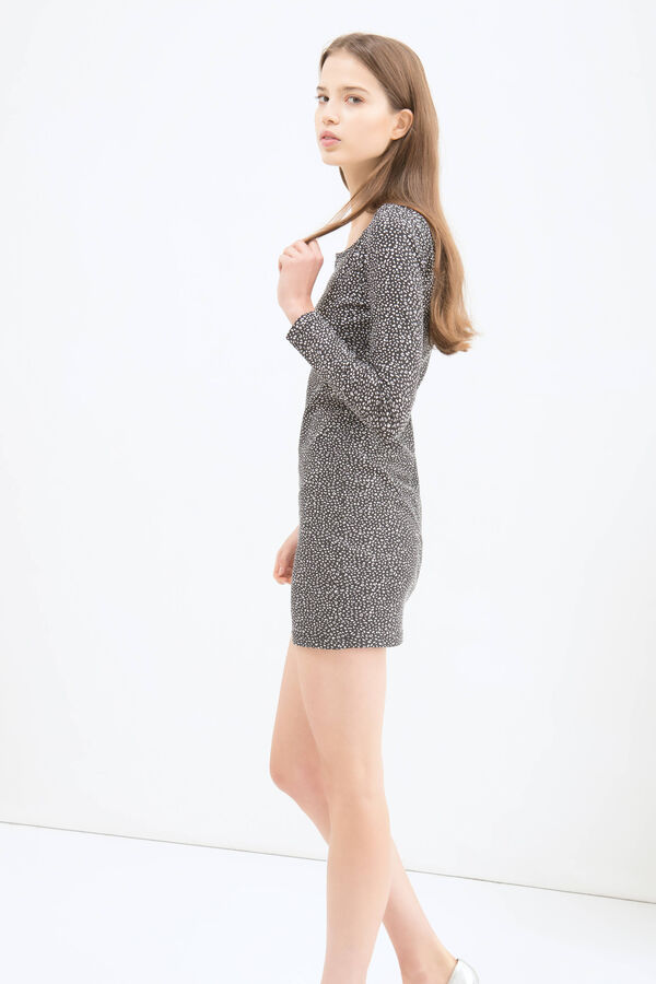 Short dress in stretch cotton | OVS