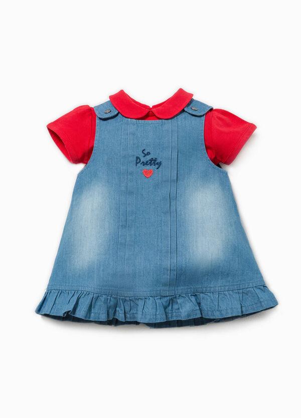 T-shirt and dress set in 100% Biocotton | OVS