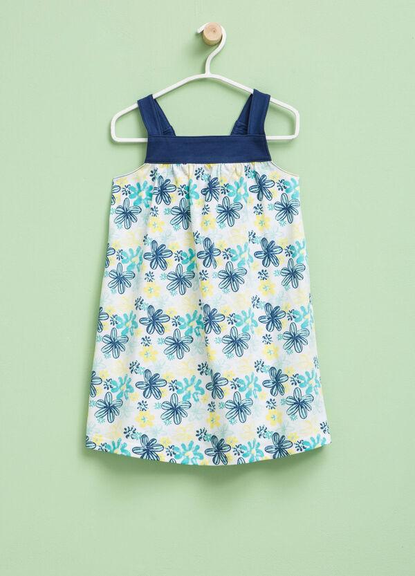 Sleeveless patterned dress | OVS