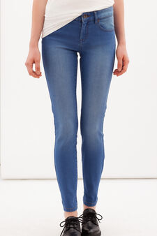 Slim fit stretch jeans, Blue, hi-res