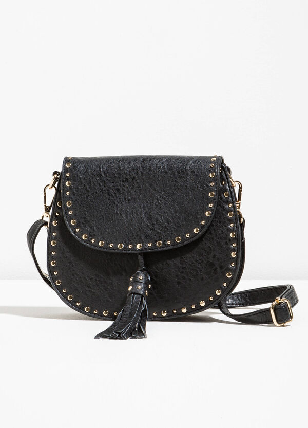 Shoulder bag with studs and removable strap | OVS