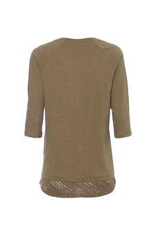 Smart Basic T-shirt in 100% cotton, Sage Green, hi-res