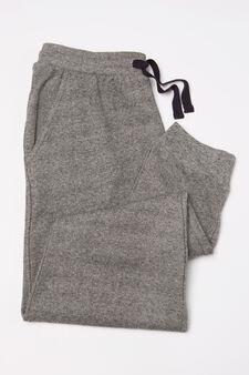 Solid colour stretch trousers, Soft Blue, hi-res