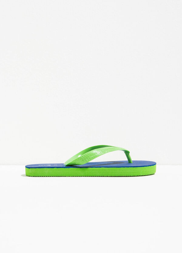 Flip flops with contrasting sole | OVS