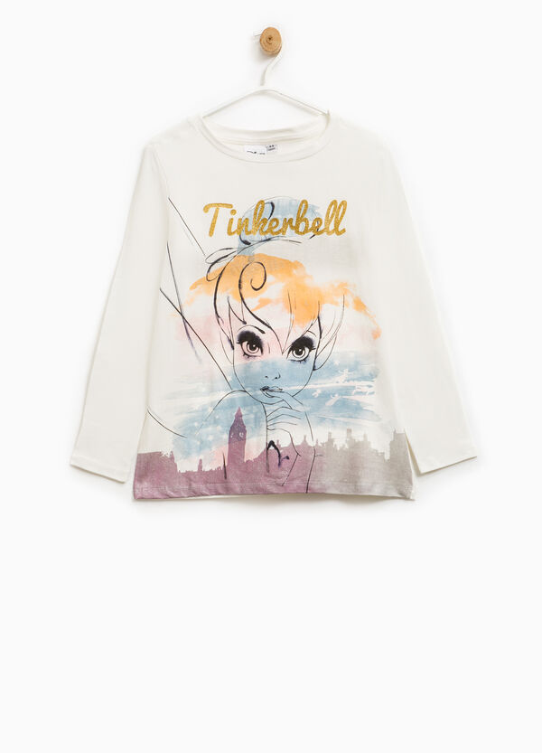 Tinkerbell T-shirt in stretch cotton | OVS