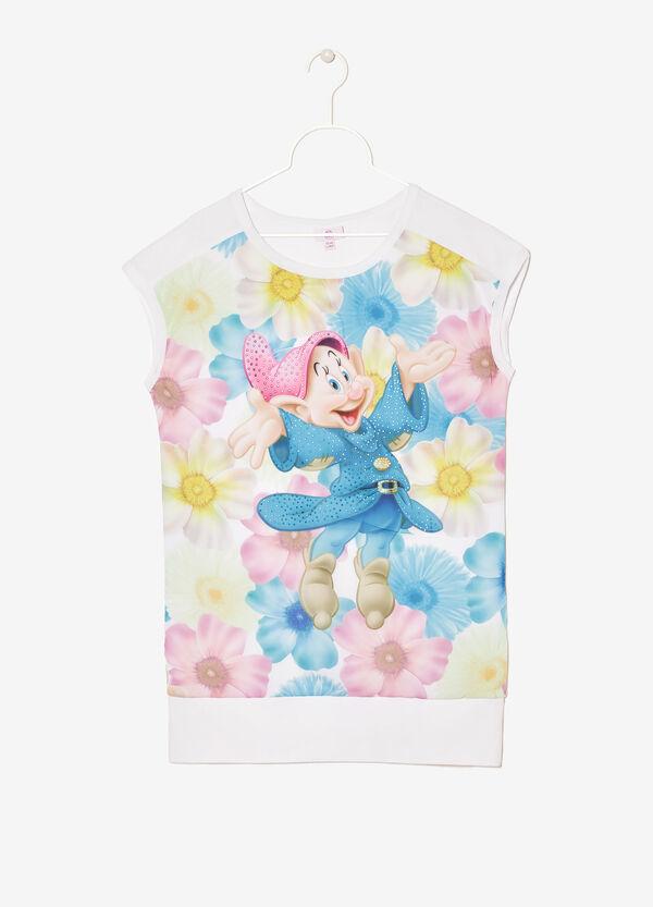 T-shirt smanicata con stampa cartoons | OVS
