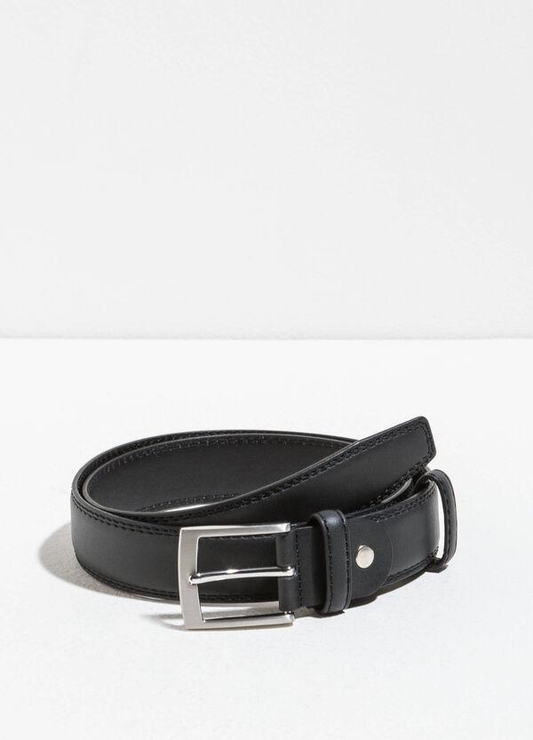 Cinturón liso con hebilla brillante | OVS
