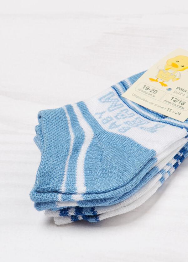 Set tre paia di calze in misto cotone | OVS
