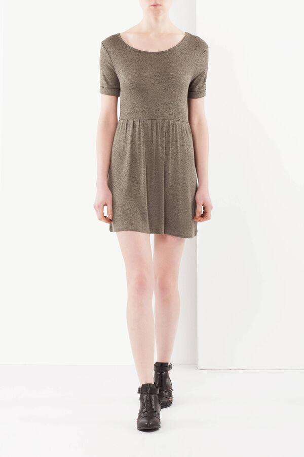 Vestito viscosa maniche corte | OVS