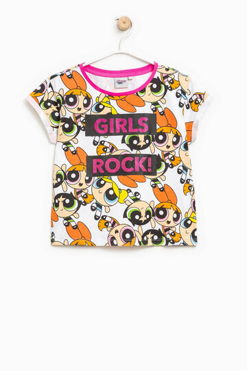 The Powerpuff Girls T-shirt with round neck, Multicolour, hi-res