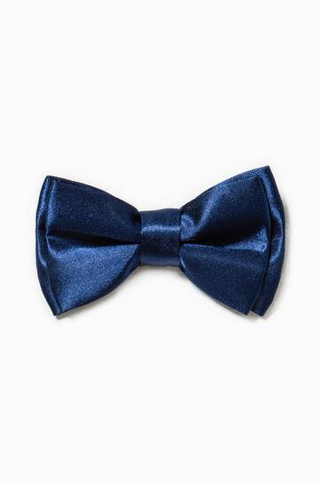 Solid colour bow tie, Blue, hi-res