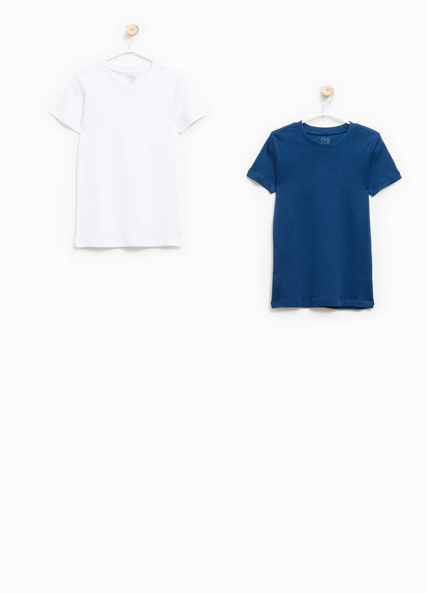 Two-pack 100% cotton underwear T-shirts | OVS