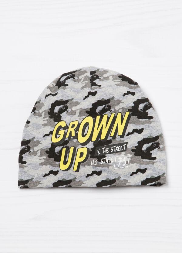 Camouflage beanie cap. | OVS