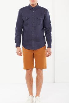 Chino shorts, Orange, hi-res