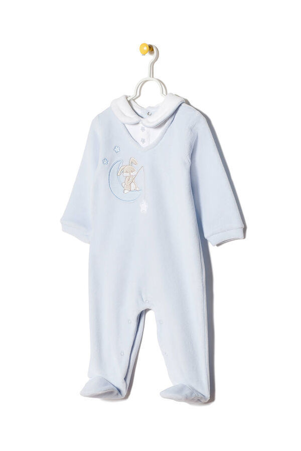 Onesie with rounded collar and feet. | OVS