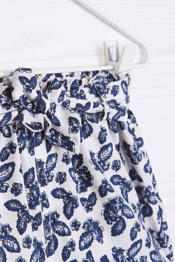 Shorts laccio in vita e stampa | OVS