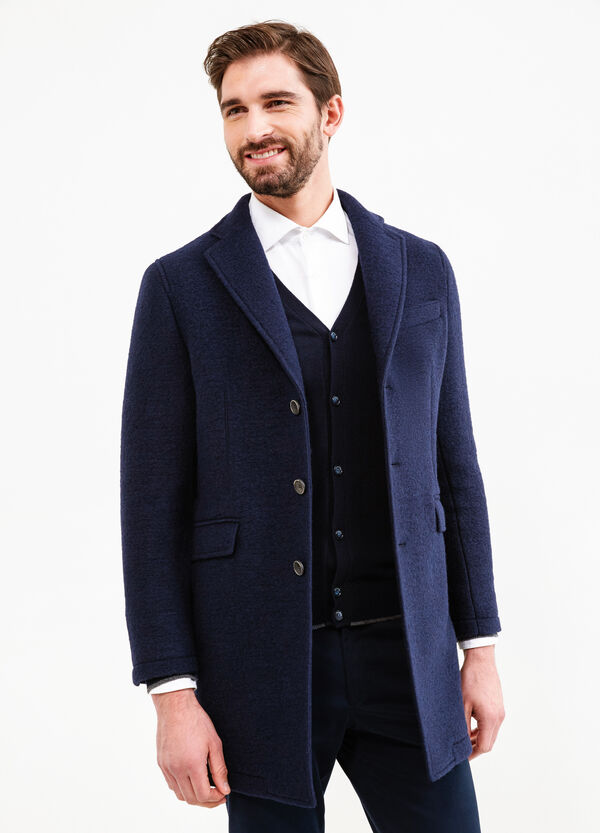 Rumford wool coat with lapels | OVS
