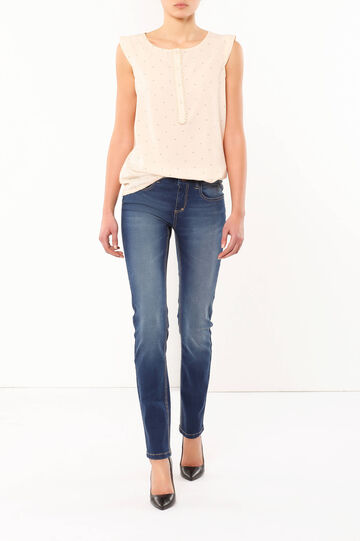 Jeans stretch regular fit, Lavaggio medio, hi-res