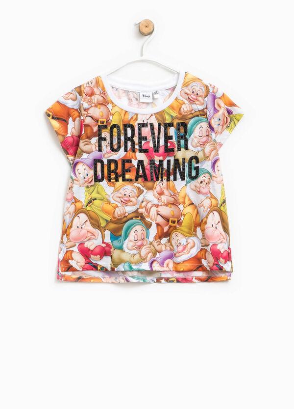 T-shirt fantasia I Sette Nani con paillettes | OVS