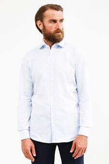 Camicia formale colletto classico, Blu chiaro, hi-res