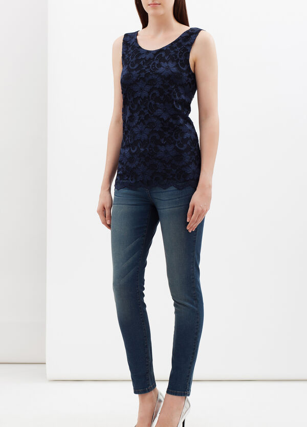Floral lace top | OVS