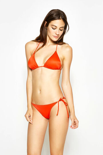 Stretch triangle bikini bra