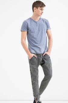 Pantaloni tuta con coulisse, Grigio, hi-res