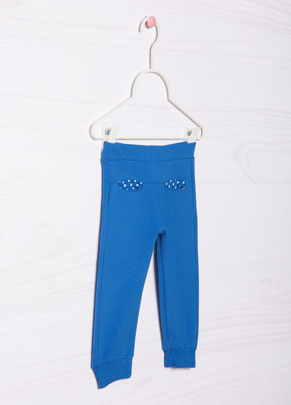 Stretch cotton joggers | OVS