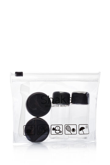 4-piece travel kit, Transparent, hi-res