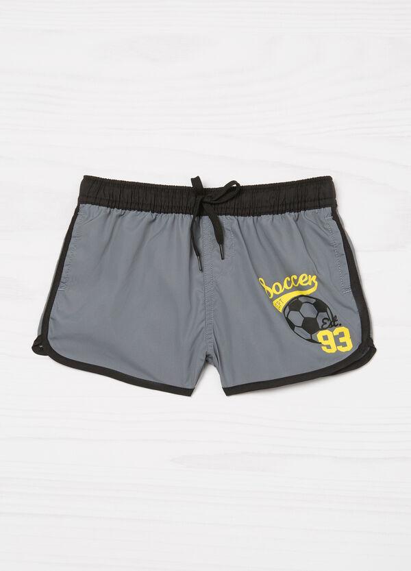 Shorts mare con stampa | OVS