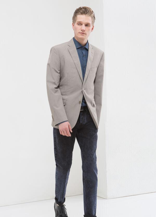 Regular fit jacket in 100% cotton | OVS