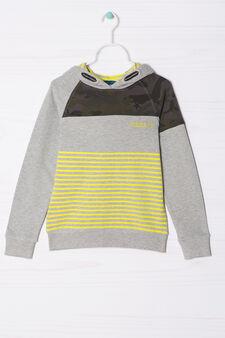 100% cotton hoodie, Grey, hi-res