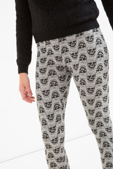 Leggings stampato cotone stretch Teen